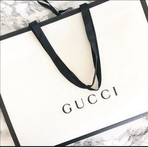 Large Gucci Shopping Bag
